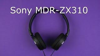Розпакування Sony MDR-ZX310