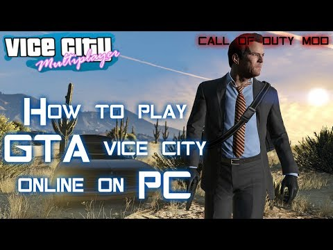 How To Play GTA Vice City Multiplayer | GTA Vice City Online | Games Bond