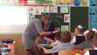 Открытый урок 3 Б класса, 44 школы