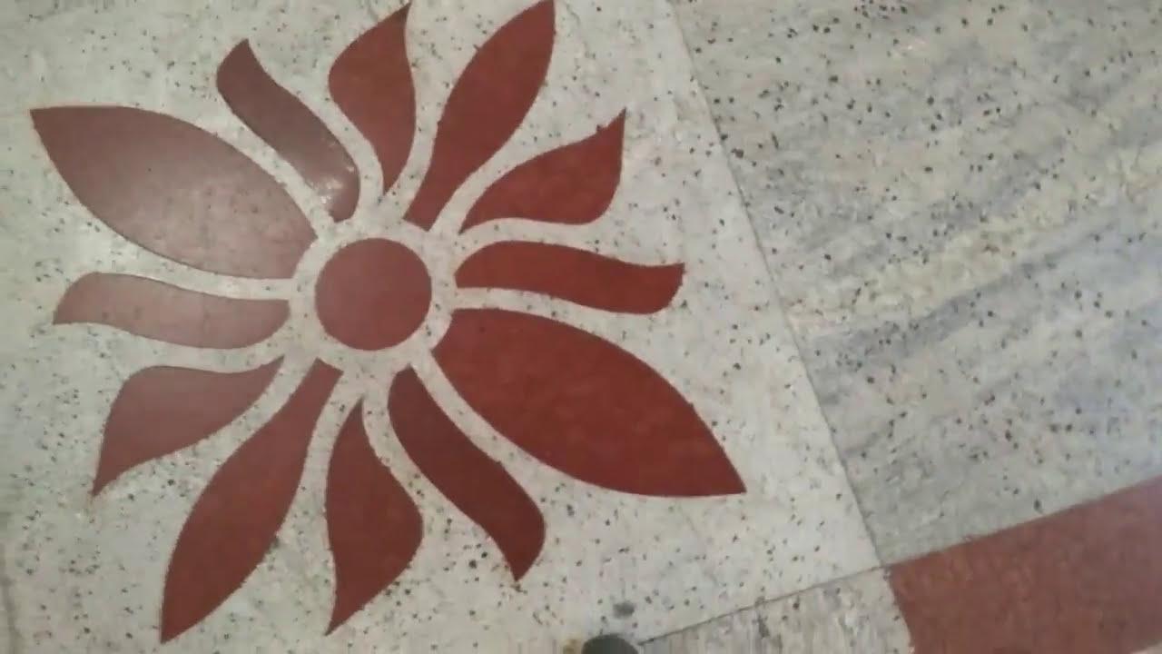 Granite flooring design - YouTube