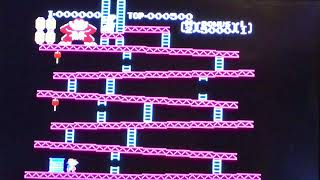 Donkey Kong (NES) - Game B