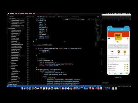 React Native Proje Geliştirme ( 1 hour in 1 min )