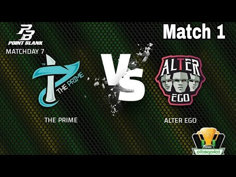 [IESPL] AUG alien MLV! THE PRIME VS ALTEREGO Match 1 Map ( DOWNTOWN ) Point Blank Evolution