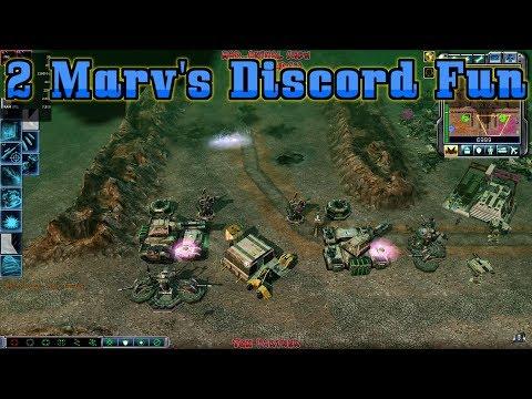(2 Marv's Discord Fun)C&C Kane's Wrath 2vs2 GDI,Steel Talons Vs Reaper-17 #146 HD