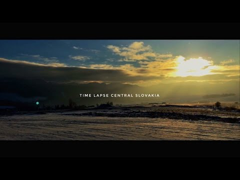 Time Lapse central Slovakia