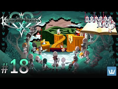 #18 - KINGDOM HEARTS χ [chi] - English Walkthrough — Wonderland, Part 3 - Ending