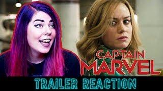 Captain Marvel | TRAILER REACTION!!!