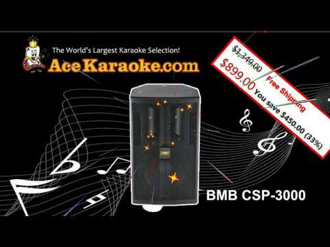 BMB CSP 3000 Professional Speaker For Sale 33% Off