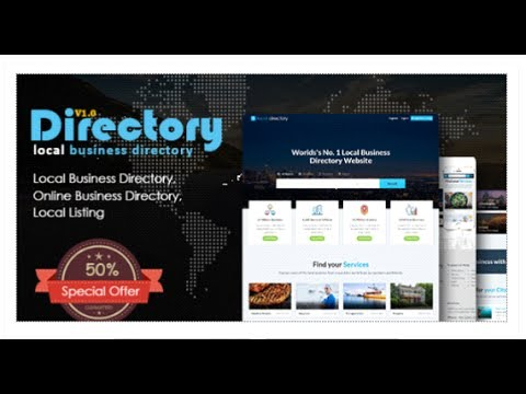 Directory pro local listing directory html template directory pro local listing directory html template themeforest download wajeb Gallery