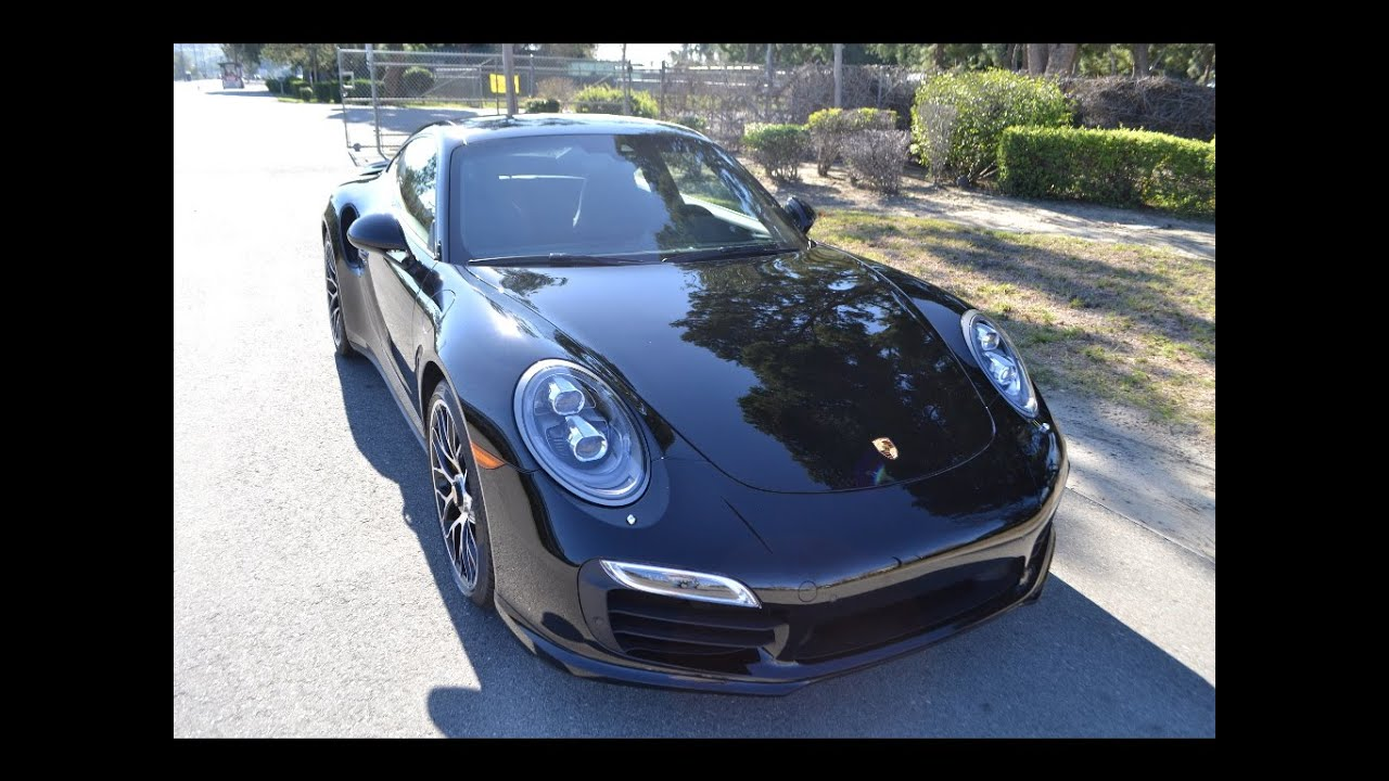 sold 2015 porsche 911 turbo s coupe black youtube