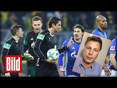 Schalke vs Dortmund - Schiri Kinhöfer über die Entscheidungen im Spiel