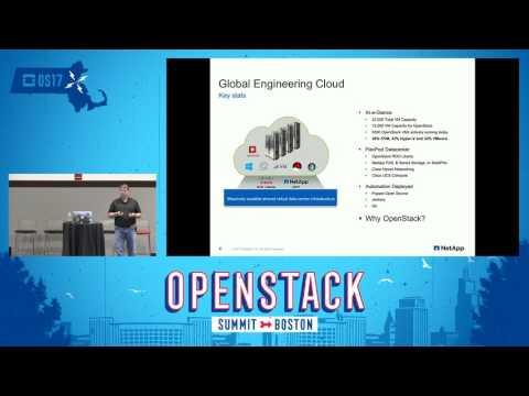 Building an Engineering IaaS Cloud to Develop NetApp's Enterprise Software
