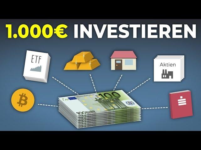 Wie sollte man 1.000€ investieren?