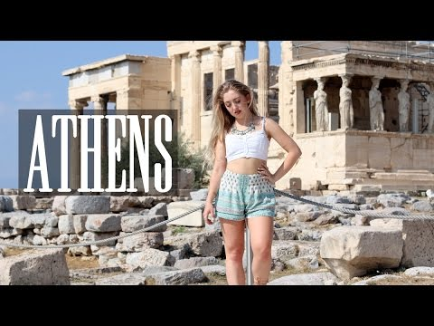 SUMMER ROADTRIP VLOG ♡ ATHENS, MY FAVOURITE CITY EVER