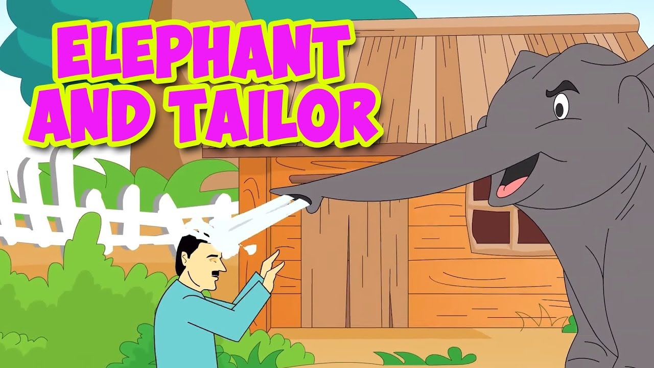 Elephant And Tailor Story - Moral Stories In English | English Story | Kids  Story In English