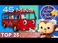 Wheels On The Bus Bath Song Ten Little Buses