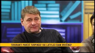 Latvija ES prezidējošā valsts, terorakti Parīzē, ceļojumu drošība un dreskods operā