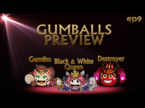 [G&D] Gumballs Preview #9 - Black & White Queen, Gumiho and Destroyer