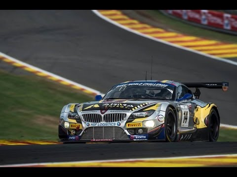 Marc VDS BMW Z4 Spa 24H winner 2015 - Team close up in 1080pHD