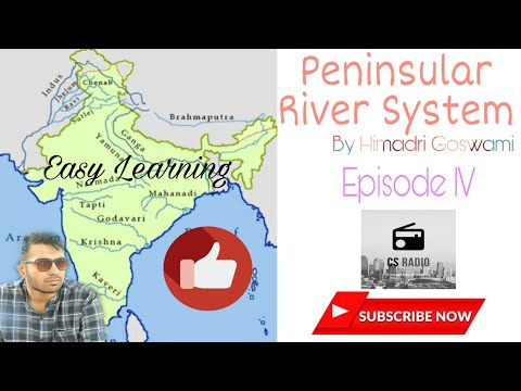 Indian Geography | Indian Peninsular River System | Episode IV | Learn Easily | UPSC/WBCS/SSC from YouTube · Duration:  8 minutes 27 seconds