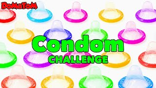 Condom Challenges - Vomit Alert (Major Fail)