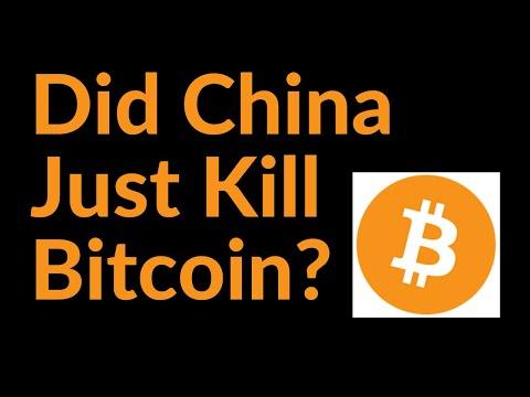Did China Just Kill Bitcoin?