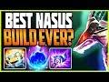 BEST SEASON 9 NASUS BUILD EVER? SO EASY AND POWERFUL! TOP Nasus vs Swain Season 9 Ranked Gameplay