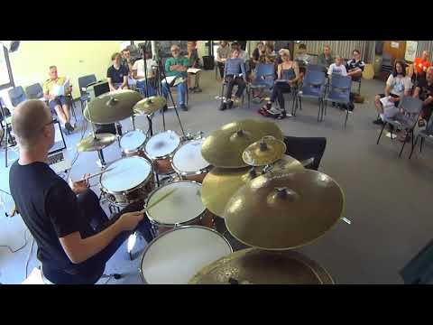 Dave Goodman Drum Clinic - Wollongong Conservatorium of Music, 14 Mar 2015