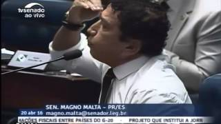 Magno Malta Detona Rolando  Lero...