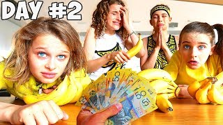 LAST TO STOP EATING BANANAS Challenge *family meltdown  w/ The Norris Nuts