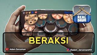KOTAK - BERAKSI   REAL DRUM COVER