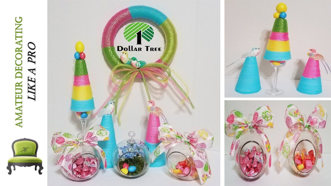 Dollar Tree Easter Themed Baby Shower DIYu0027s U0026 Ideas   Viewer Requested    YouTube