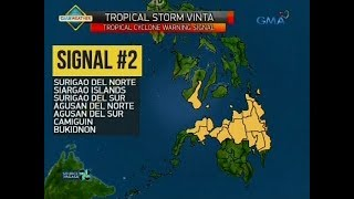 UB: Weather update as of 5:58 a.m. (December 22, 2017)