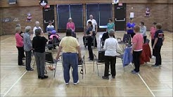 Band, ball and light weights exercise for older adults and seniors