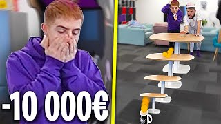 CARTE BLEU TRICKS CHALLENGE #4 ! (on a fait un tricks a 10 000€, vraiment)