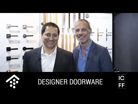 ICFF 2018: Designer Doorware's Contemporary Architectural Hardware