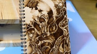 Woodburning Art - Pyrography 13/10/04