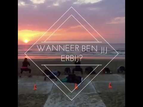 Beachfit met Daan groepslessen Scheveningen