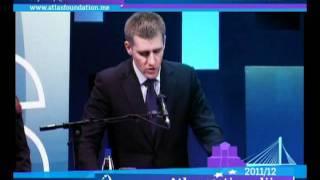 Atlas stipendije, Atlas scholarships 2012 - Premijer Crne Gore Igor Lukšić