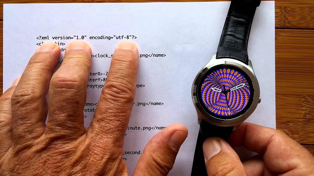 No 1 D5 Part 1 Clock Skin Creation Workshop - Simple Analog by SmartWatch  Ticks