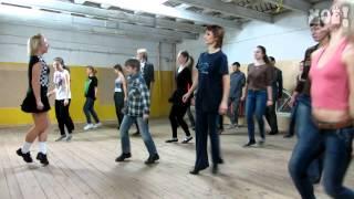 Как в Воронеже учат танцевать ирландские танцы