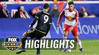 New York Red Bulls vs. Columbus Crew | 2015 MLS Highlights