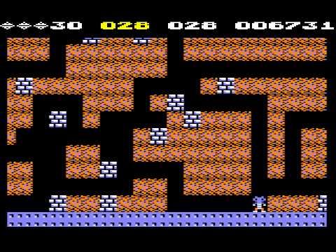 C64 Longplay - Boulder Dash 2 (HARDEST MODE)