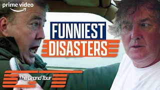 The Funniest Accidents and Disasters From The Grand Tour | Prime Video