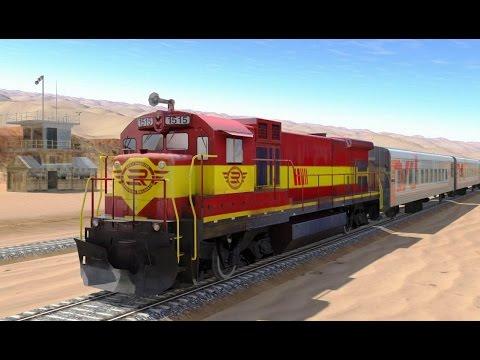 Train Simulator 3D - Game Simulasi Kereta Api (Level 6-7) (Android Game)