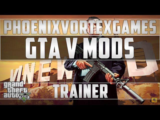 GTA 5 Script Hook V + Native Trainer v1 0 678 1   GTA V