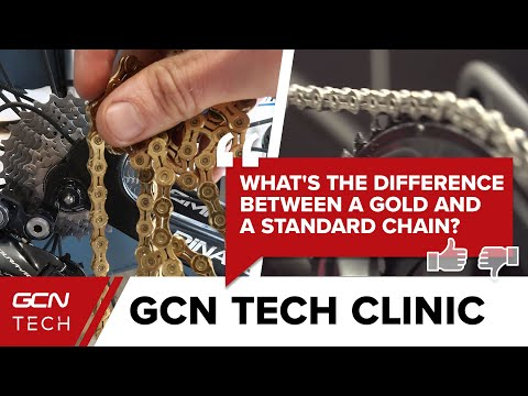 Is A Gold Chain Just As Fast As A Regular One? | GCN Tech Clinic #AskGCNTech