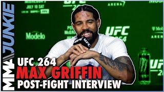 Max Griffin proud of 'surreal' win over Carlos Condit