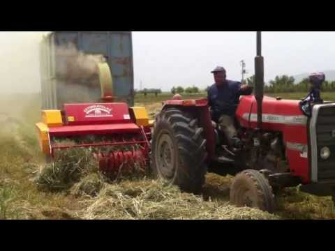 CETINKAYALAR STEM COLLECTING AND STRAW MACHINE - PAILLEUSE
