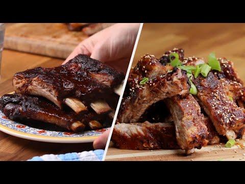 How To Make 5 Deliciously Marinated Rib Recipes • Tasty